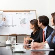 Stock Photo: Business presentation