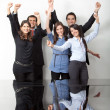 Happy business team — Stock Photo #7746028