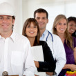 With different professions - Stock Photo