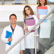 Medical students — Stockfoto #7746180