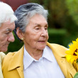 Couple of elder — Stock Photo #7746194