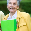 Elder woman — Stock Photo