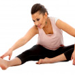Woman stretching — Stock Photo #7746212