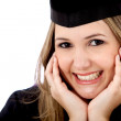 Beautiful graduate female — Stock Photo #7746902