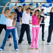 Group at the gym — Stock Photo #7746963