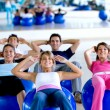 Pilates class in a gym — Stock Photo #7746966