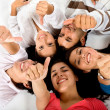 Happy group of friends — Stock Photo #7747198