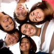 Happy group of friends — Stock Photo #7747202