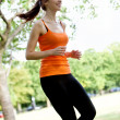 Woman running — Stock Photo #7747258