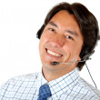 Foto Stock: Customer service representative