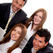 Foto Stock: Business group