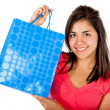 Shopping girl - Stock Photo