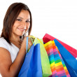 Woman with shopping bags — Lizenzfreies Foto