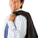 Friendly business man portrait — Stock Photo