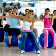 Pilates class at the gym — Stock Photo