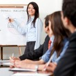 Business presentation — Stock Photo #7747886