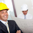 Stock Photo: Male engineer in business suit
