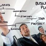 iş pazarlama ve planlama — Stok fotoğraf