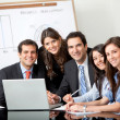 Business group at the office — Stock Photo #7748021