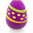 3d easter egg — Stock Photo