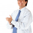 Business man applauding - Stockfoto