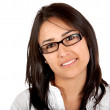 Woman with glasses — Stock Photo #7748138