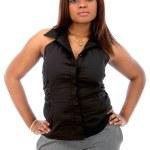 Confident business woman — Stock Photo #7748201