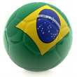 Brazil football — Stock Photo