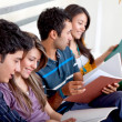 Group of studying — Stock Photo