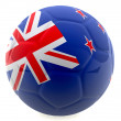 3D New Zealand football — Stock Photo