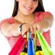 Shopping woman — Stock Photo #7748421