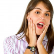 Surprised woman — Stock Photo #7748423