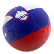 3D Slovenia football — Stock Photo #7748489