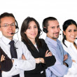 Diverse customer service team — Stock Photo