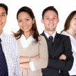 Diverse business team — Stock Photo