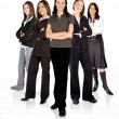 Stock Photo: Female business team