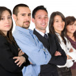Stock Photo: Business team - young entrepreneurs