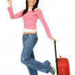 Girl going on vacation — Stock Photo #7748690