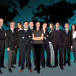 Stock Photo: Business team worlwide