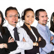 Customer service team - Stockfoto