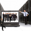 Business online network team - Stock Photo