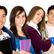 Young students at university - Stock Photo