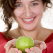 Girl on healthy diet — Stock Photo #7748783