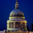 St pauls cathedral at night - Stock Photo