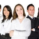 Confident business team — Stock Photo #7748806