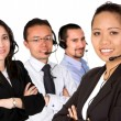 Foto de Stock  : Customer service team