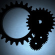 Stock Photo: Engineering cogwheels