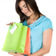 Girl with shopping bags — Stock Photo #7748872