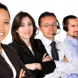 Diverse customer service team — Stockfoto