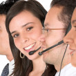 Customer support team — Stock Photo